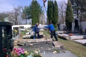 Oprava válečného hrobu_11