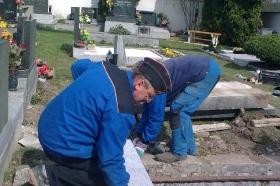 Oprava válečného hrobu_4