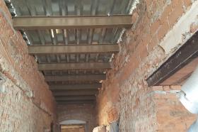 Rekonstrukce kulturního domu v Lukové - 05.06.2017 (hospoda)
