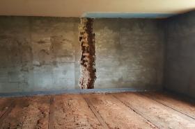 Rekonstrukce kulturního domu v Lukové - 05.06.2017 (tělocvična - sociálky)