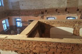 Rekonstrukce kulturního domu v Lukové - 05.06.2017 (tělocvična)