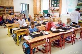 Základní škola v Lukové přivítala sedm prvňáčků_10