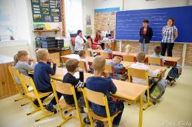 Základní škola v Lukové přivítala sedm prvňáčků_1