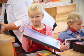 4.9.2017 - Základní škola v Lukové přivítala sedm prvňáčků